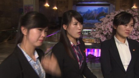 Tearful North Korean waitresses: Our 'defector' colleagues were tricked