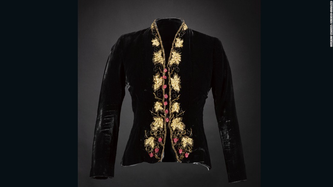 "We acquired this piece at auction specifically for the new ""Fashion and Style"" gallery. <br /><br />Elsa Schiaparelli is a pivotal figure in fashion history, and is particularly important to the story of Frances Farquharson, an editor at <em>Vogue</em> and <em>Harper's Bazaar</em> in the late 1920s and 30s whose wardrobe features in the new gallery. <br /><br />This jacket is from the period that represents the height of Schiaparelli's creativity, when she was collaborating with the surrealist artists Jean Cocteau, Salvador Dali and Leonor Fini. This is thought to have been a favorite design of Schiaparelli's, as she wore a near-identical jacket for her famous portrait by the photographer Horst P. Horst for <em>Vogue</em>."
