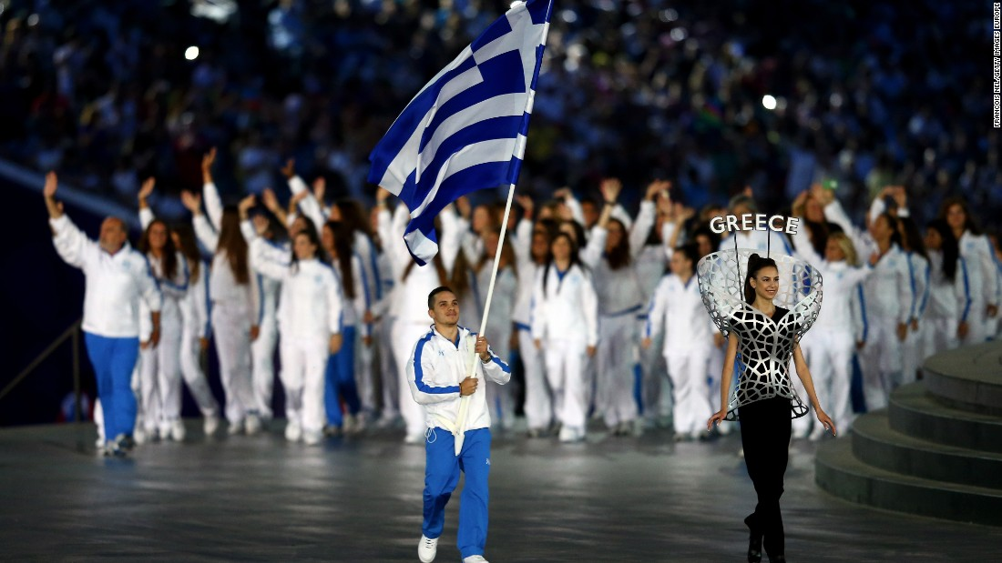 Petrounias carried the Greek flag at the Opening Ceremony for the Baku 2015 European Games. The 25-year-old enjoyed a stellar year, winning the World and European titles.