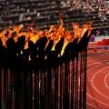 London 2012 flame