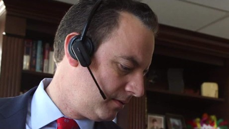 day in the life of reince priebus gangel pkg nr_00013115.jpg