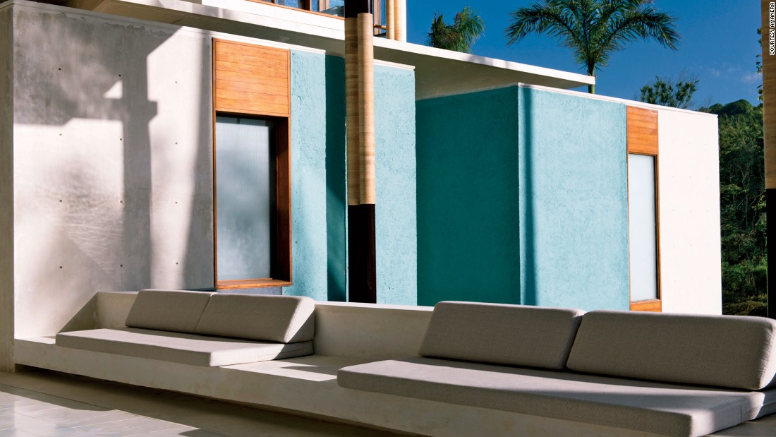 Amanera in Playa Grande, Dominican Republic features sleek designs and plenty of privacy.