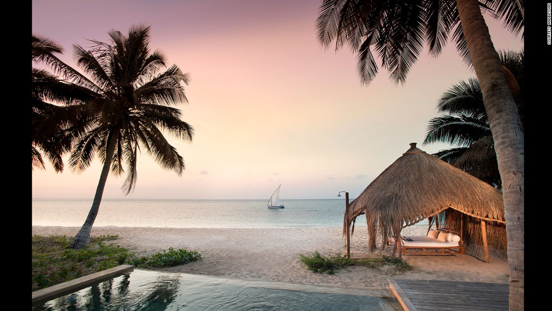 andBeyond Benguerra Island on Mozambique's Bazaruto Archipelago has only 10 casinhas, two cabanas and one three-bedroom casa.