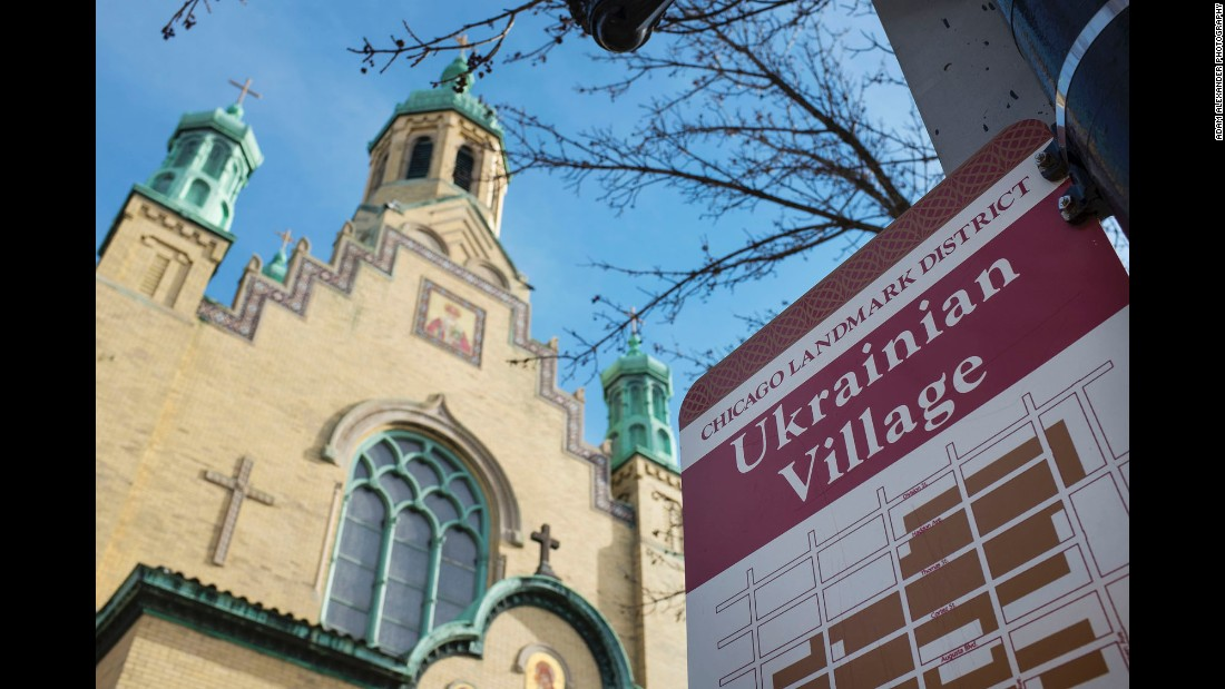 St. Nicholas Ukrainian Catholic Cathedral has been at the heart of Ukrainian Village for more than 100 years. While Ukrainian families still live in the neighborhood, it has become one of the hottest spots on the real estate market.