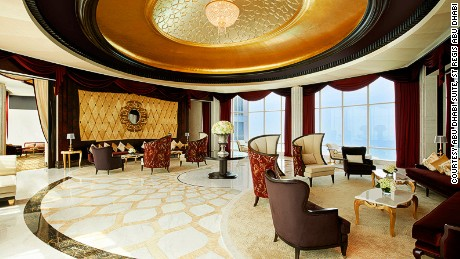 Big views, big money: The Abu Dhabi Suite at the St Regis.