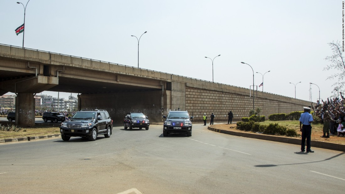 The 50-kilometer, eight-lane Thika superhighway was built by Chinese state-owned construction firm Wu Yi in 2012, and supported with Chinese funding.