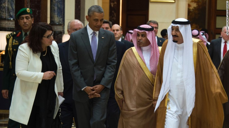 White House: Obama had broad meeting with Saudis