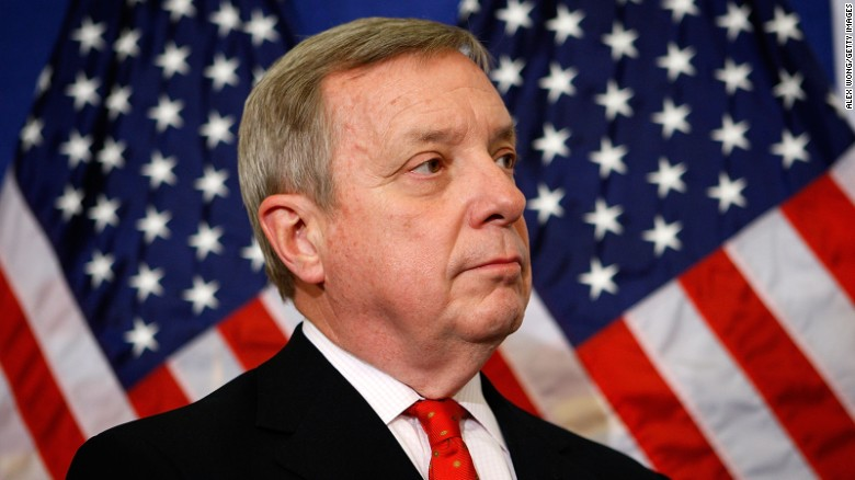 Durbin: Trump's tweets destroying credibility