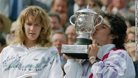 Arantxa Sanchez remembers her finest moment on court