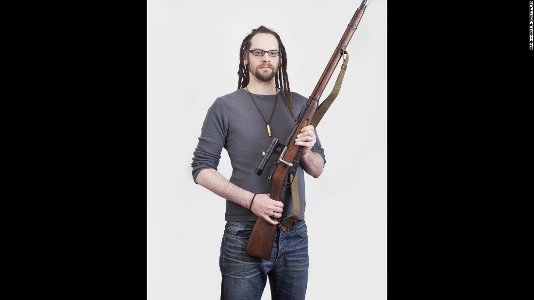 Marc Schieferdecker is a founder of the German Rifle Association, which is similar to the National Rifle Association in the United States.