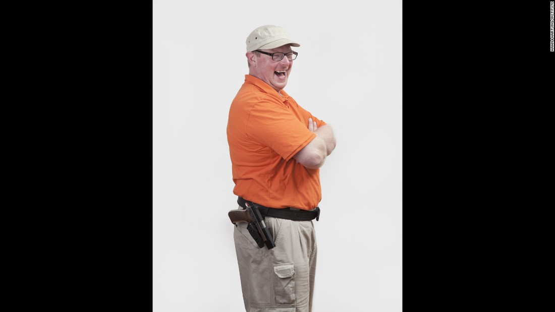 Christian Ohmen is a public-school teacher who enjoys hunting and going to the shooting range.