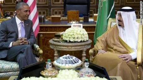 Obama visits Saudi Arabia, UK and Germany