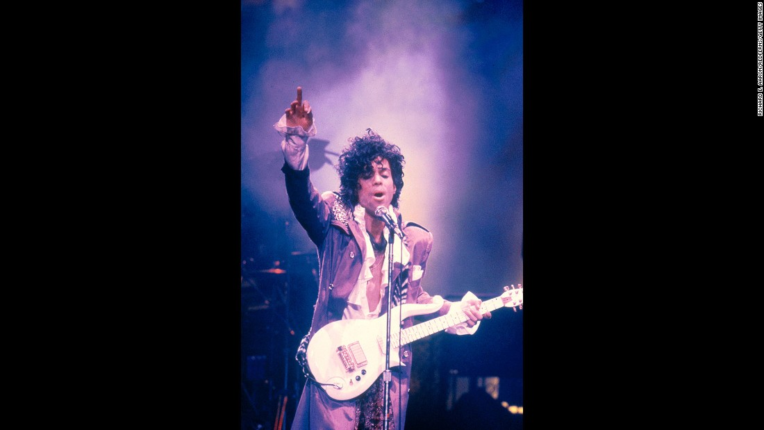 "Prince performs in New York in 1984. Controversy followed the singer and that, in part, made his fans adore him more. His 1984 song, ""Darling Nikki,"" details a one-night stand and prompted the formation of the Parents Music Resource Center. Led by Al Gore's then-wife, Tipper Gore, the group encouraged record companies to place advisory labels on albums with explicit lyrics."