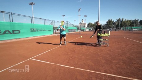 Tennis school: Barcelona leads way in junior coaching