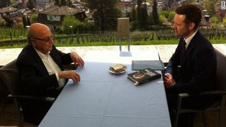 Former FIFA president, Sepp Blatter, speaks to CNN's Alex Thomas.