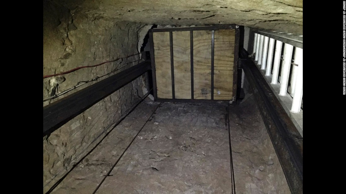 """In this undated image provided by the U.S. Department of Justice, an elevator inside a <a href=""""http://www.cnn.com/2016/04/20/us/u-s-mexico-drug-tunnel/"""" target=""""_blank"""">tunnel stretching from Mexico to San Diego</a> is seen. Officials announced the recent discovery of the nearly half-mile long tunnel on Wednesday, April 20, along with the seizure of more than a ton of cocaine and seven tons of marijuana. Six people were also arrested."""