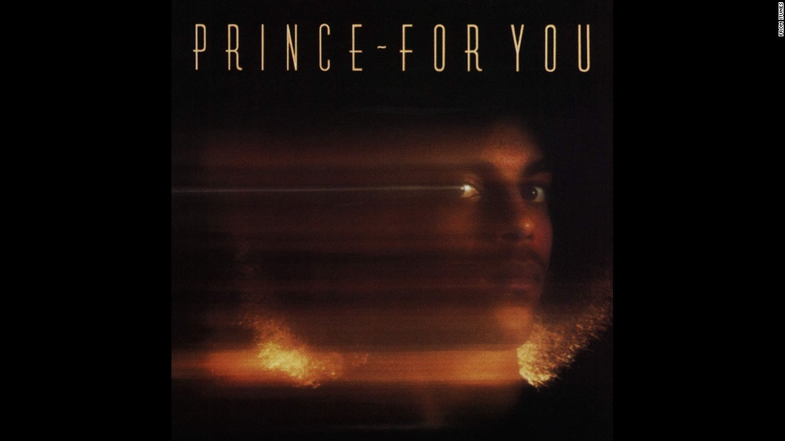 "Musician and artist Prince died Thursday, April 21, at age 57. Click through the gallery to look back on the performer's album cover art through the years. Here is his first album, ""For You"" (1978)."