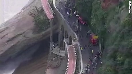 2 killed in Rio bike path collapse