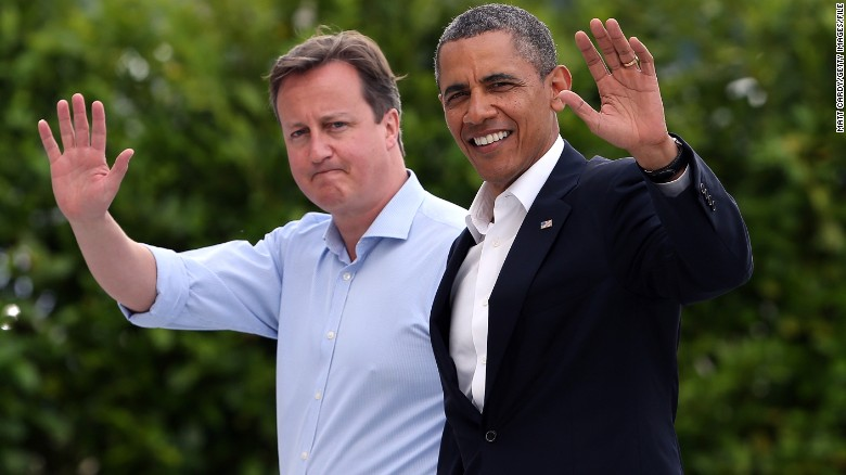 Obama: European Union strengthens Britain