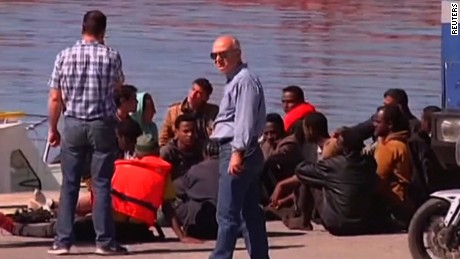 Migrant recounts surviving tragedy at sea