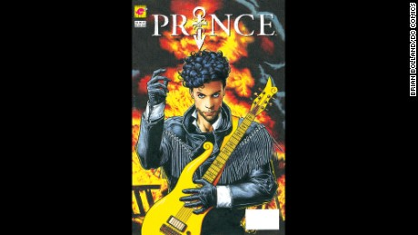 "The comic book was selftitled ""Prince."""