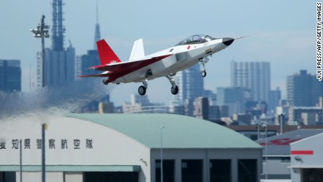 Japan's new stealth fighter jet
