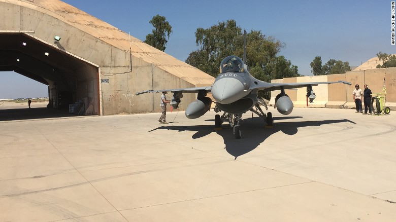 Iraqi F-16s take to the skies against ISIS