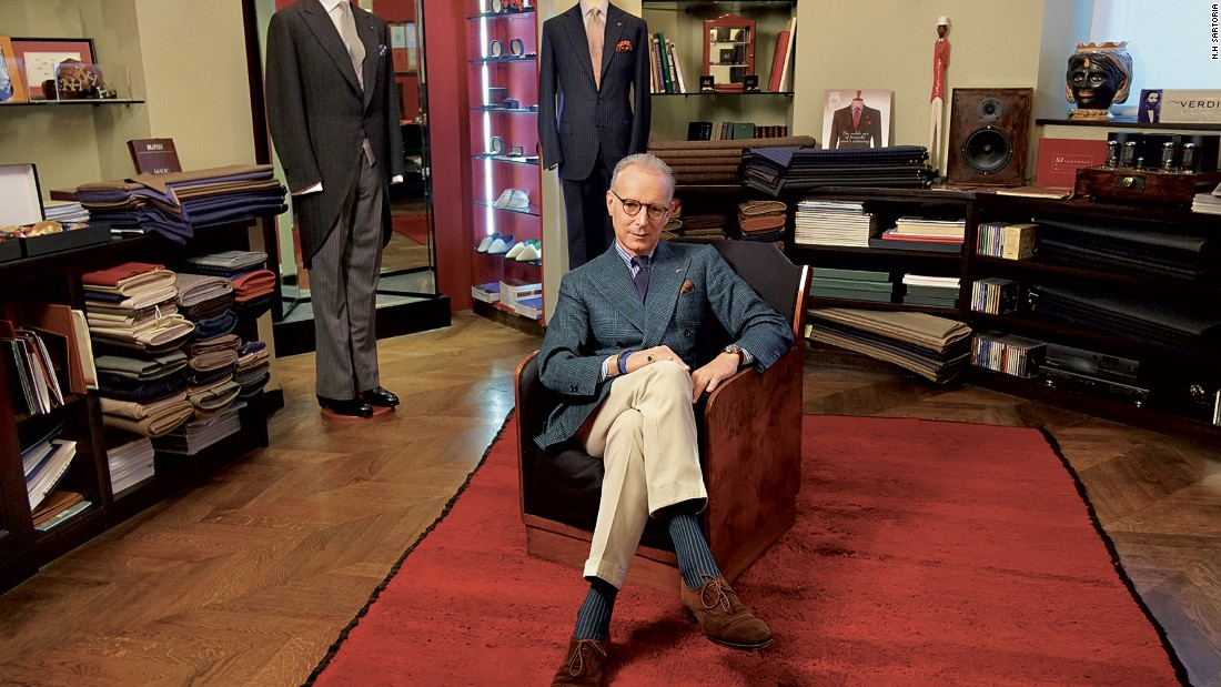 Italy's northern capital may be all about fashion but there's more to Milan than the famous brands. Take men's clothing store N.H Sartoria, N.H Sartoria, founded by Federico Ceschi.