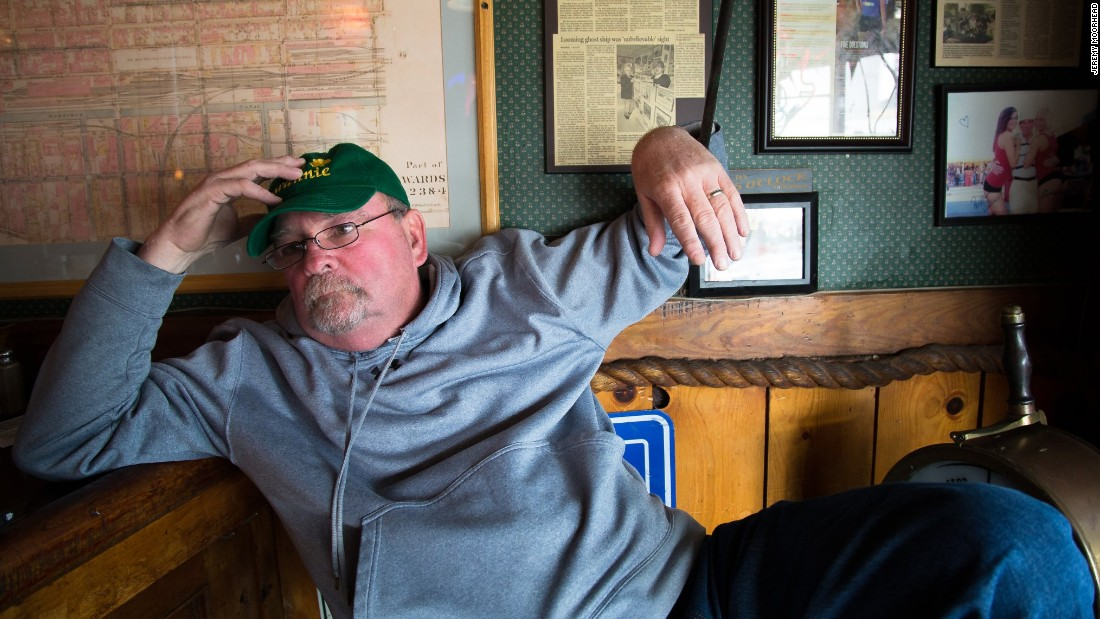 "Most days, you can find Tim Wiles sitting in the corner of the Swannie House, a bar in Buffalo that he has owned for more than 30 years. Born and raised in the city, the 60-year-old said everyone fled after the big steel mills in the area closed. ""Anybody that graduated from college, the only thing they could do was get out,"" he said. The city had gone through such hard times, he says, that when the 2008 financial crisis hit, some in his community hardly felt it: ""We didn't suffer because we'd been suffering for so long."" Wiles thinks Trump is the most qualified presidential candidate, and he is furious about efforts within the Republican Party to stop the GOP front-runner from getting the nomination. ""If the Republicans don't lay off this man, I will never vote Republican,"" he said."