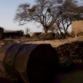 Nigeria mafa burned out village