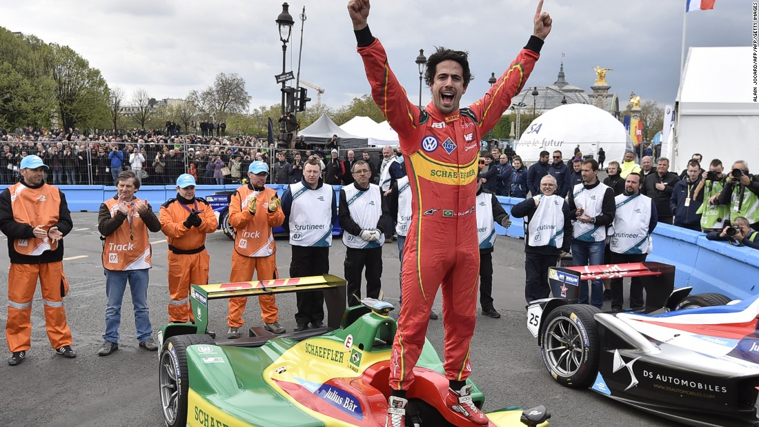 Lucas Di Grassi motored into history as the first driver to win the Paris ePrix but the celebrations weren't restricted to the podium after a positive weekend in Paris.