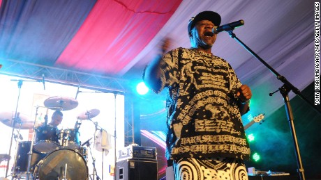 Congolese musician Papa Wemba died after collapsing on stage in Ivory Coast.
