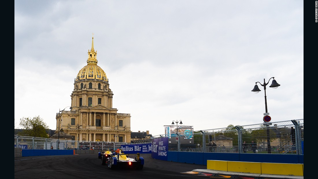 The event was held in the heart of the chic  seventh arrondissement -- home to the Eiffel Tower and Les Invalides complex.