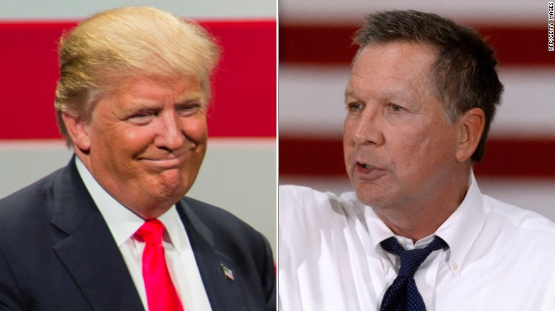 John Kasich undecided on endorsing Trump