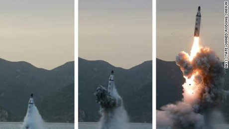 North Korea has tested numerous ballistic missiles in recent months, including submarine-launched missiles.
