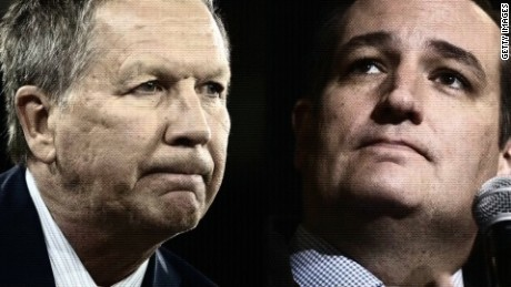 Ted Cruz John Kasich team up against Trump