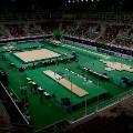 Olympics 2016 Gymnastics arena