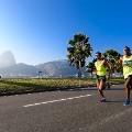 Olympics : Renilson Vitorino da Silva (L) and Marcio Barreto Silva of Brazil