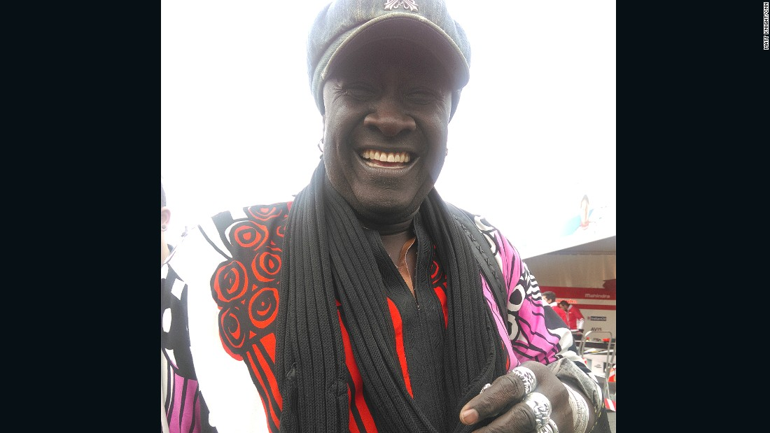 "This Formula One fan from Senegal traveled to Paris to experience the thrills of electric racing.<br /><br />""It's the beginning of Formula E because now everyone is talking about electricity. I believe in the future and I think (Formula E CEO) Alejandro Agag is taking a big step.""<br />"