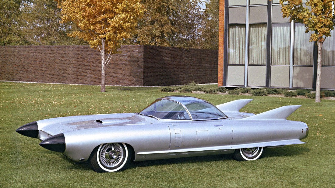 Spotting the Cadillac Cyclone at a car show aged eight prompted Welburn's steadfast decision to design cars for GM.