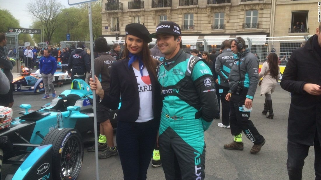 "Formula E is targeting new city-centre venues for season three and beyond, including Hong Kong and New York.  ""I'm sure we will be racing in all the major cities around the world, it's just going to blow!"" predicted Formula E champion Nelson Piquet Jr, seen here on the Paris grid."