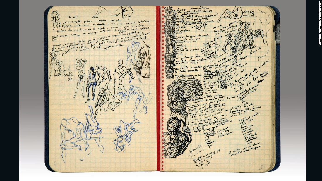 "The diary is believed to date somewhere between 1930 and 1935, a period which saw Dali's star rise with works including ""<a href=""http://www.moma.org/collection/works/79018"" target=""_blank"">The Persistence of Memory</a>"" and the artist's increasing profile in the United States."