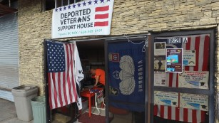 Deported Veterans Support House in Tijuana, Mexico