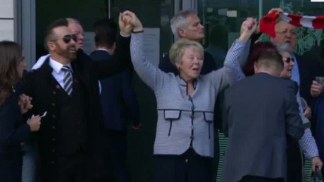 Families break out in song after Hillsborough verdict