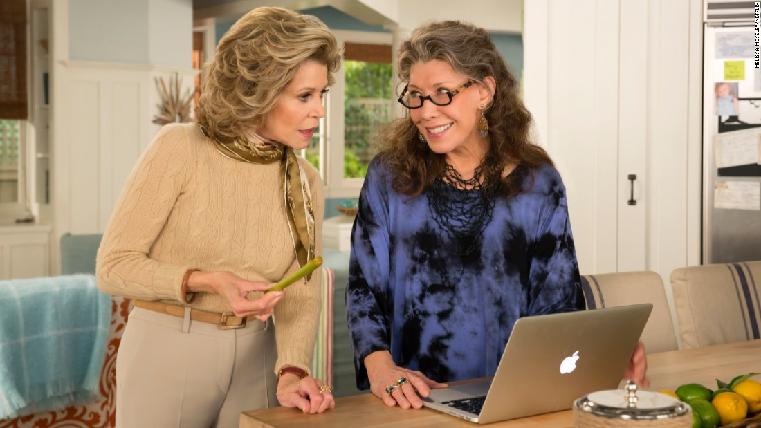 "Oh month of May how we heart thee, and not just because there are great new streaming options, including season 2 of the hit <strong>Netflix</strong> original series <strong>""Grace and Frankie""</strong> starring Jane Fonda and Lily Tomlin. Here are a few other streaming goodies for the month:"