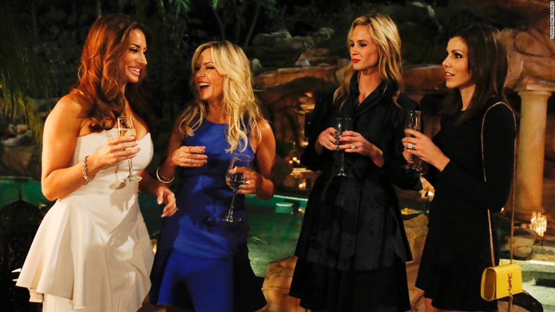 "<strong>""The Real Housewives of Orange County"" season 10</strong>: Lizzie Rovsek, Tamra Judge, Meghan Edmonds, and Heather Dubrow try to survive the drama on this Bravo reality series. <strong>(Hulu)</strong>"