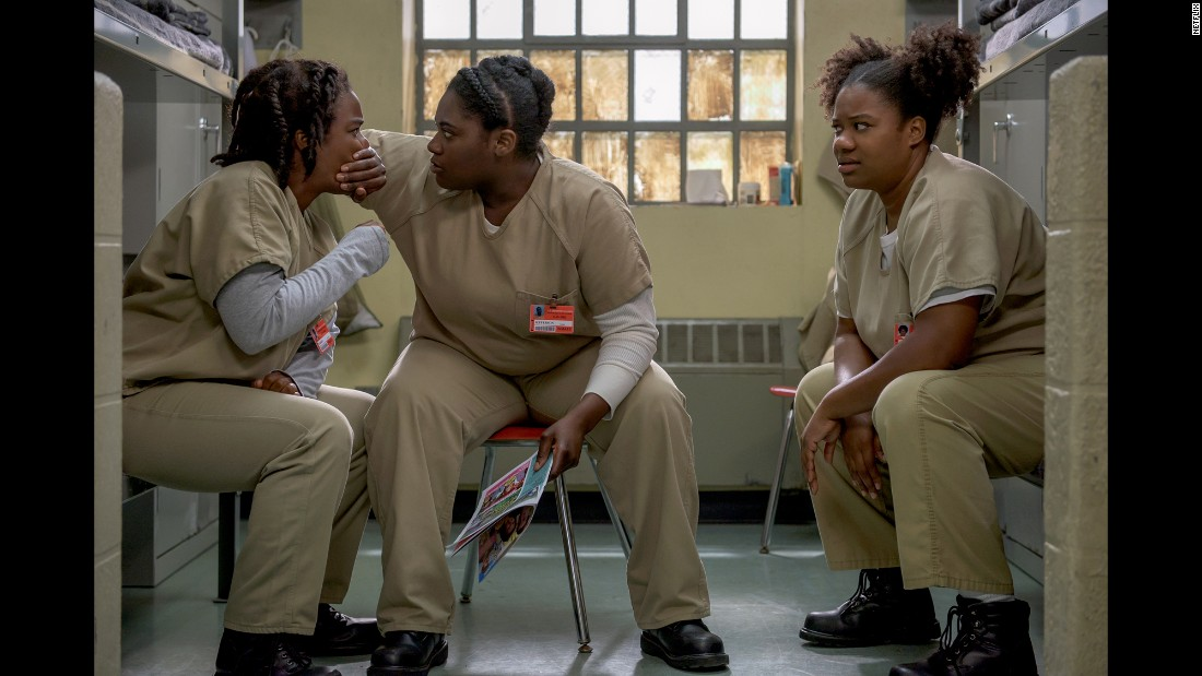 "<strong>""Orange Is The New Black"" season 3</strong>: Life inside a women's prison gets hectic in this popular Netflix series. <strong>(iTunes) </strong>"