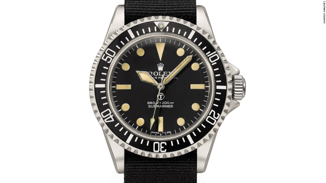 "Made circa 1972, this is one of the much-copied original ""Milsubs"", preserved in excellent overall condition. The Military version of the iconic Submariner ref. 5513 was adapted according to specifications set out by by the British Ministry of Defense, and is engraved as such on the caseback."