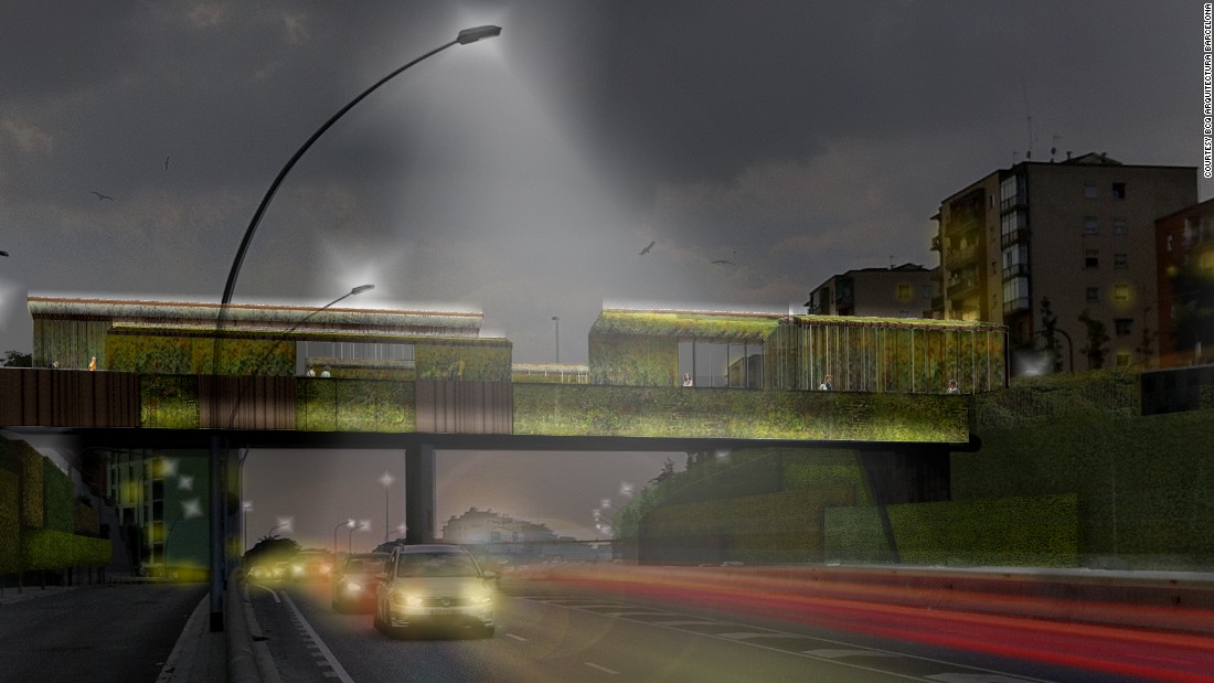 "<a href=""http://bcq.es/"" target=""_blank"">BCQ Arquitectura Barcelona's</a> plant-covered bridge takes Heatherwick's green concept one step further. Their proposed upgrades to the existing Sarajevo Bridge include photoluminescent stones to light the pathway without electricity and concrete that converts pollution into harmless substances. As of now, there is no set completion date."