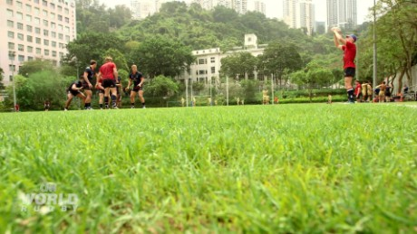 Rugby on the rise in Hong Kong